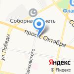 Поликлиника №3 на карте Ярославля