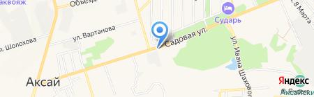 Шиномонтажная мастерская на Садовой на карте Аксая