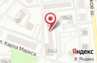 Схема проезда до компании Отделение почтовой связи №30 в Ярославле