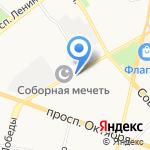 Ultra на карте Ярославля