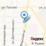 Промошапка на карте Ярославля
