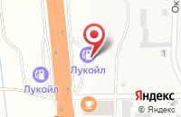 Схема проезда до компании АЗС ЛУКОЙЛ в Дорожном
