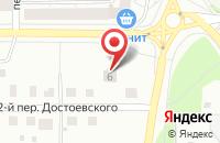 Схема проезда до компании Жить Хорошо в Ярославле