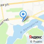 ЯрКаток на карте Ярославля