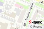 Схема проезда до компании Единый Центр Финансовых Услуг в Вологде