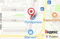 Схема проезда до компании Флагман в Ярославле