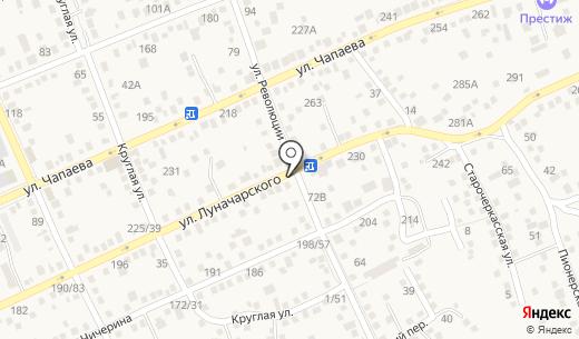 Магнит. Схема проезда в Аксае
