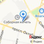 Центральный на карте Ярославля
