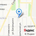 Гисмус на карте Ярославля