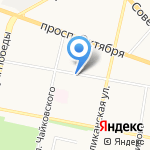 Автополис Ярославль на карте Ярославля