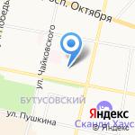 Детский сад №82 на карте Ярославля