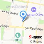Киш-Миш на карте Ярославля