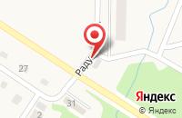 Схема проезда до компании Радужный в Лесной Поляне