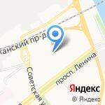 Управление вневедомственной охраны на карте Ярославля