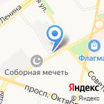 Ярославский на карте Ярославля