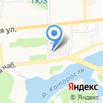 Гараж-76 на карте Ярославля