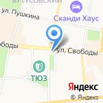 Миллион Роз на карте Ярославля