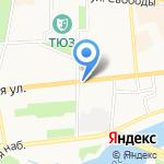 Криадент на карте Ярославля