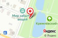 Схема проезда до компании Ольгино в Городне