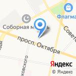 Октябрь 28а на карте Ярославля