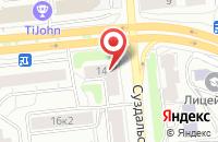 Схема проезда до компании Nays в Ярославле