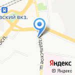 Отдел службы судебных приставов Фрунзенского и Красноперекопского района на карте Ярославля