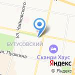 Ясные Зори на карте Ярославля
