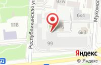 Схема проезда до компании Наша Rаша в Ярославле