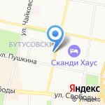 АндерСон на карте Ярославля