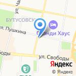 Химтэк на карте Ярославля