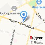Веломарка на карте Ярославля
