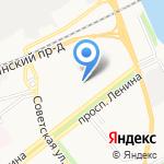 Автолэнд на карте Ярославля