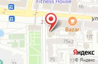Схема проезда до компании Этажи в Ярославле