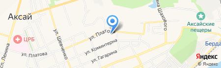 Стиль на карте Аксая