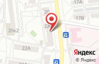 Схема проезда до компании Raduga в Ярославле