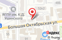 Схема проезда до компании Центрспецстрой в Ярославле