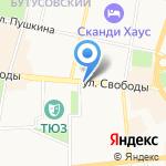 Спорт для всех на карте Ярославля
