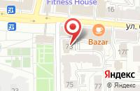 Схема проезда до компании Республика в Ярославле