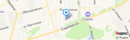 Пафос на карте Аксая