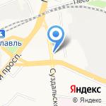 Аннушка на карте Ярославля