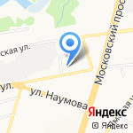 Электро-Нва на карте Ярославля