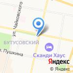 Лаки Тревел на карте Ярославля