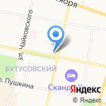 Фабрика окон Ярославль на карте Ярославля