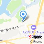 Яргортранс на карте Ярославля