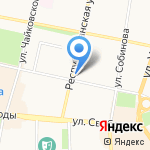 Балкон на карте Ярославля