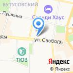 Кредит Европа банк на карте Ярославля