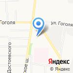 Газпром газораспределение Ярославль на карте Ярославля