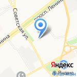 Государственный архив Ярославской области на карте Ярославля