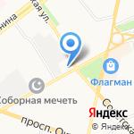 Бриз на карте Ярославля