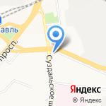 Ярославская транспортная прокуратура на карте Ярославля